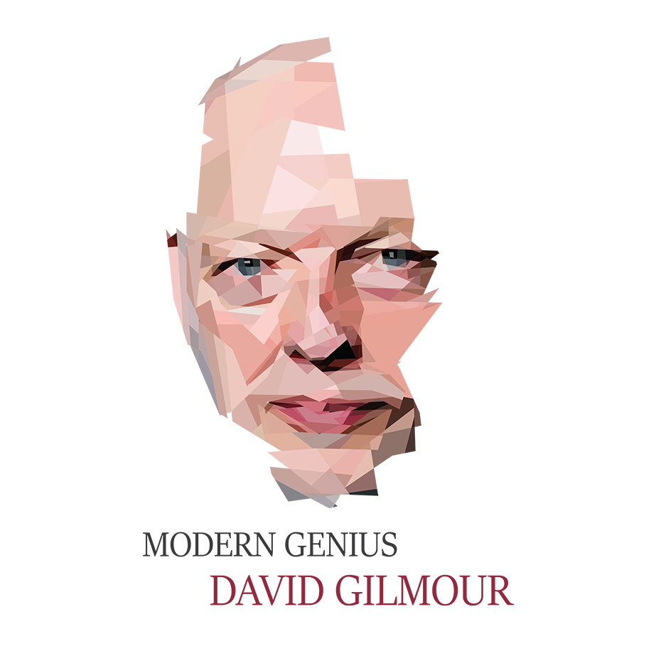 David Gilmour, un Modern Genius bien sûr !