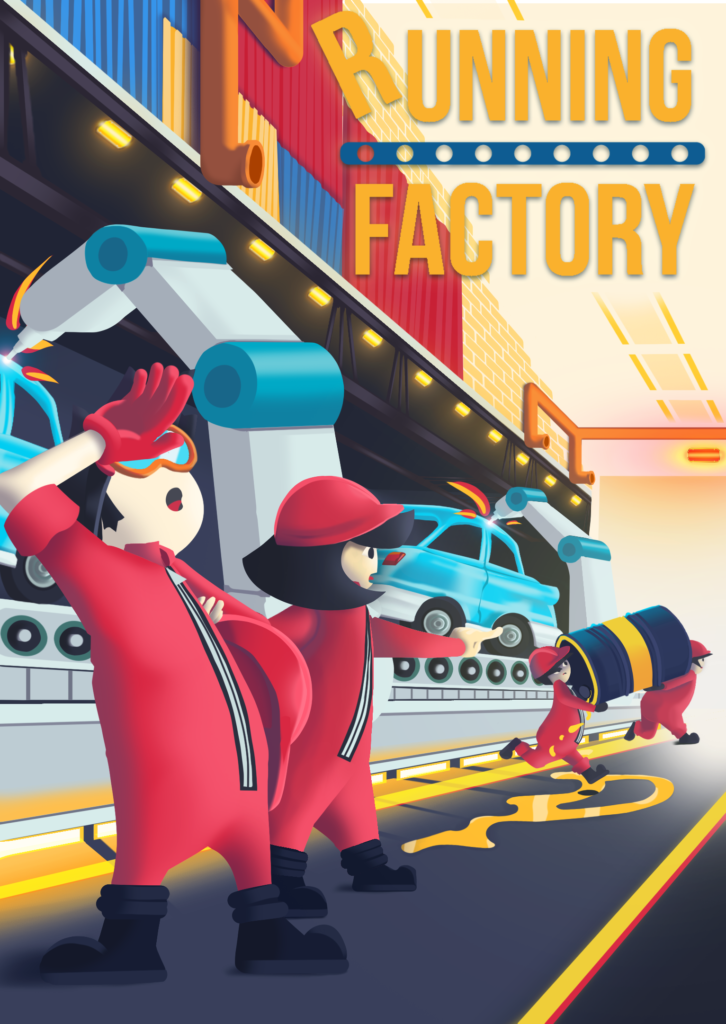 Couverture Running Factory